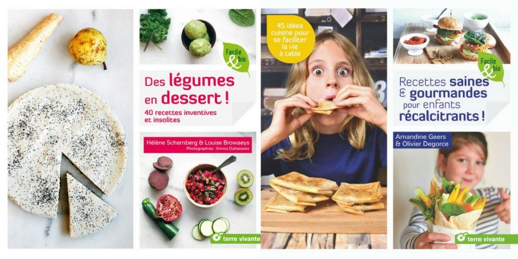 Livres Terre Vivante légumes